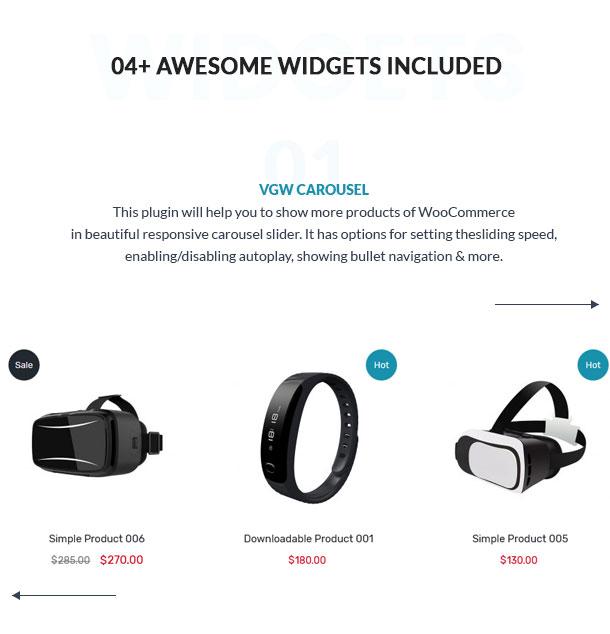 VG Oregon - Responsive WooCommerce WordPress Theme - 22