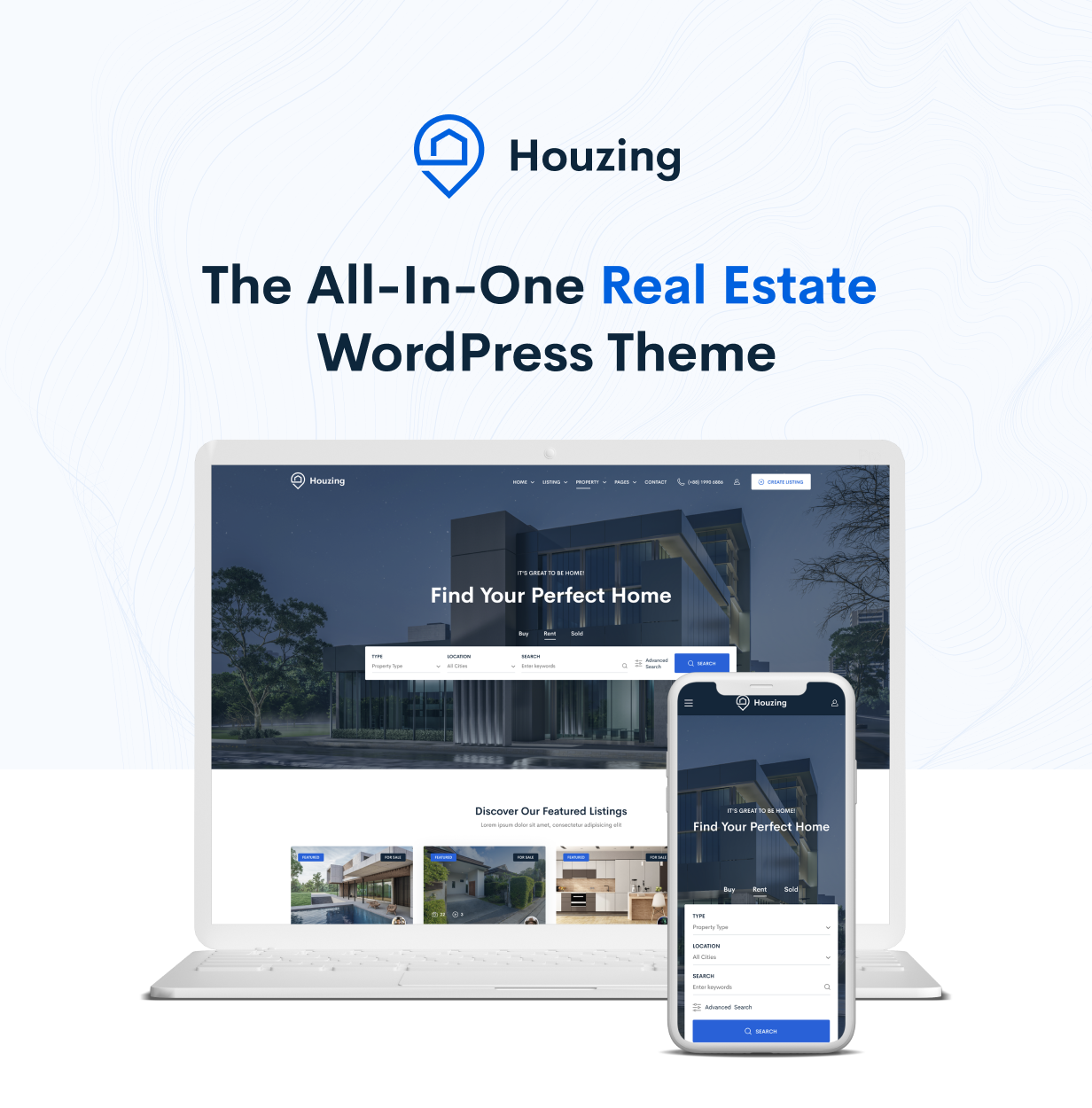 Houzing – Real Estate WordPress Theme