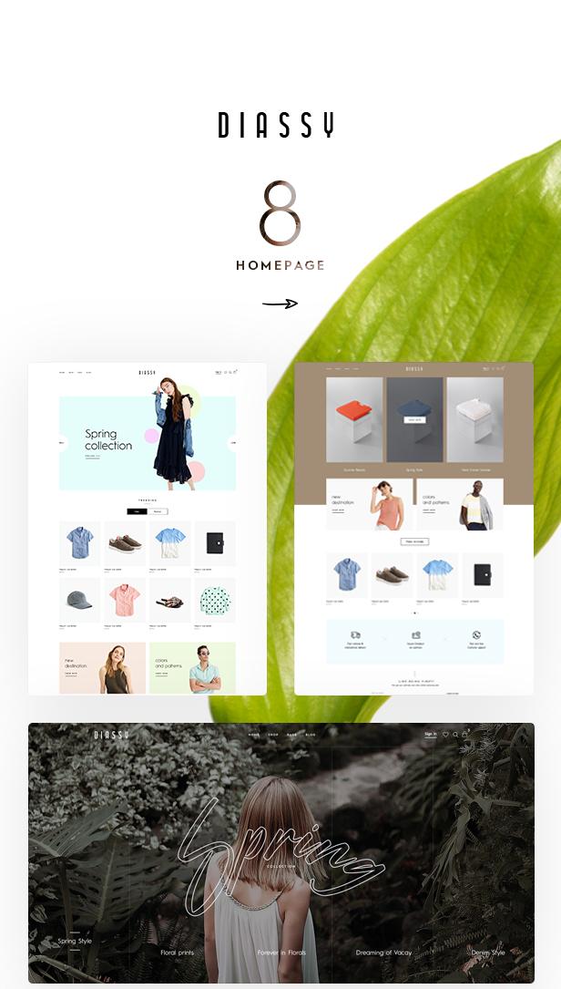 Diassy - Fashion WooCommerce Theme - 1