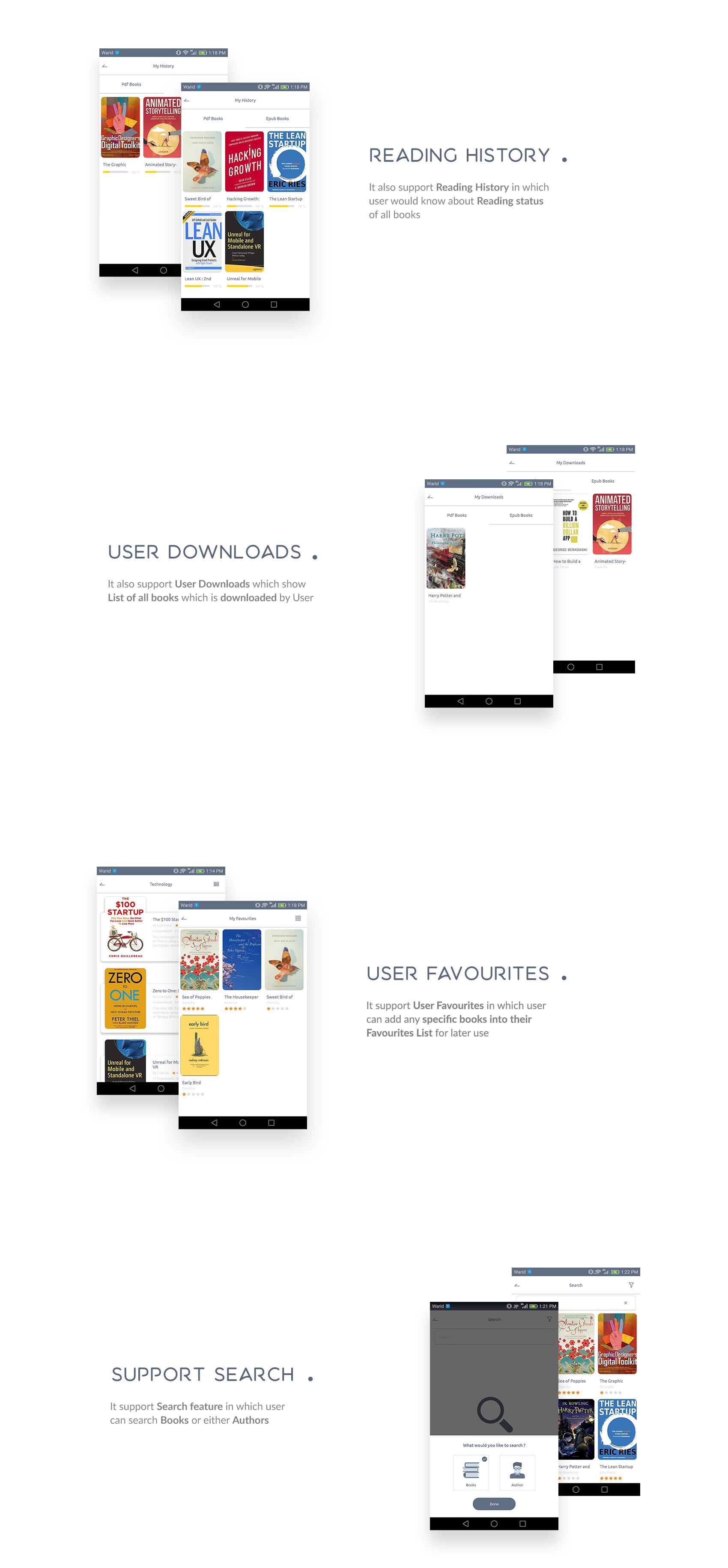 Books4u - Android Ebook App + Admin panel - 6