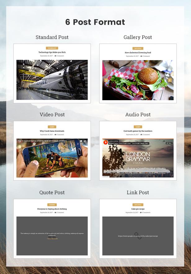 Qualta - Responsive WordPress Blog Theme - 4
