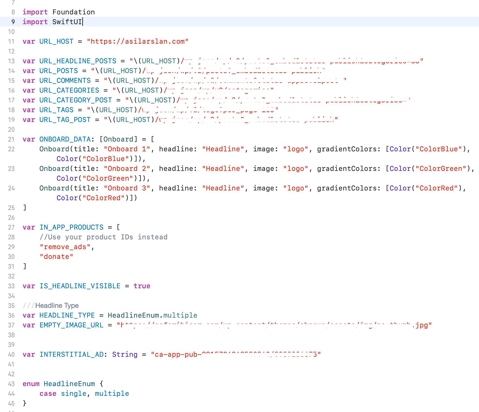 News SwiftUI WordPress Rest App | Full SwiftUI iOS Application - 1
