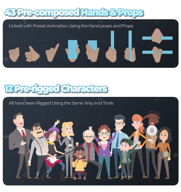 Character Rigging Mock Up Animations - 4