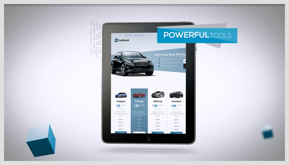 Promotion Website and App - 5