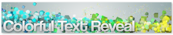 Colorful Text Reveal - 4