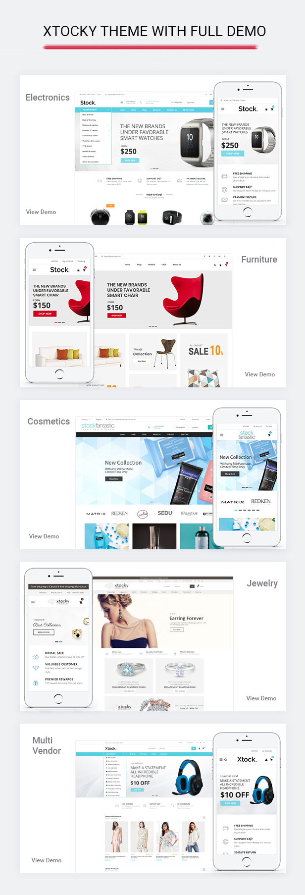 Xtocky – Tema receptivo de WooCommerce – Plantillas TutorialMonsters