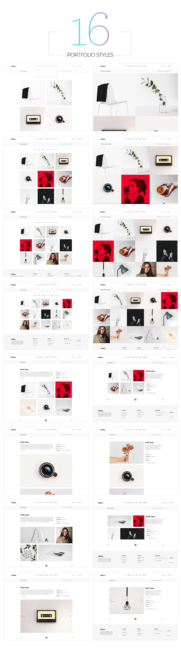 Orien - Creative Portfolio WordPress Theme - 7