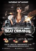 Beat Criminal Flyer