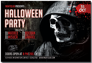Halloween Party Flyer - 6