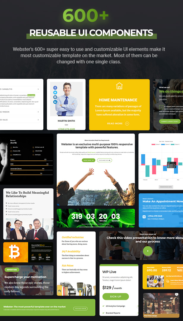 Webster - Responsive Multi-purpose HTML5 Template - 13