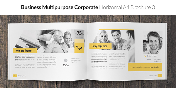 Business / Corporate Multi-purpose A4 Brochure 3