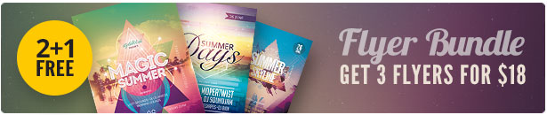 Summer Flyer Bundle Vol.03