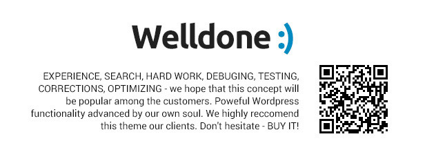 Welldone Wordpres WooCommerce theme
