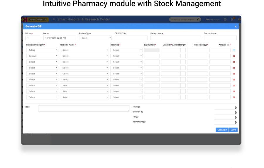Smart Hospital : Hospital Management System - 10