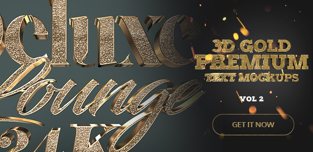 Gold Text Effect '14