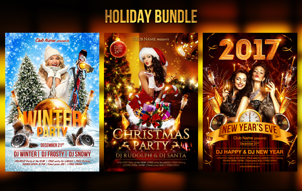 New Year Party Flyer Template - 22
