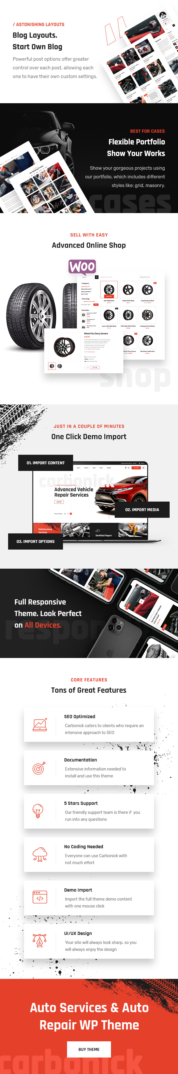 Carbonick - Auto Services & Repair WordPress Theme - 2