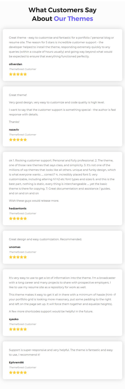 BreezyCV - CV Resume Template - 5