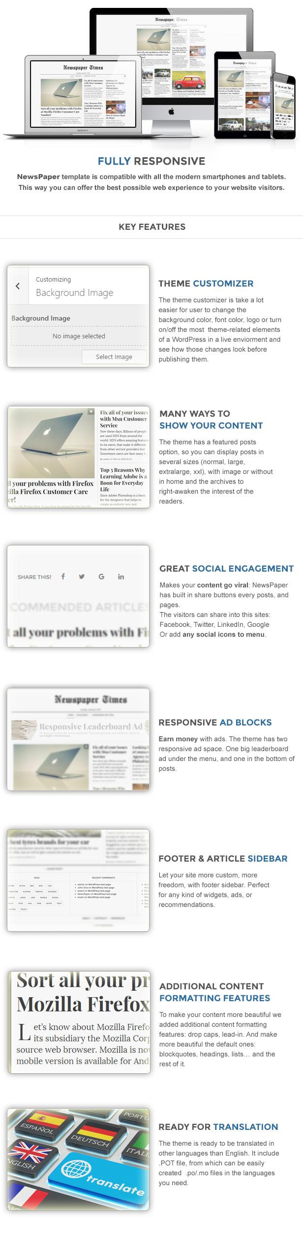 NewsPaper - News & Magazine WordPress Theme - 3