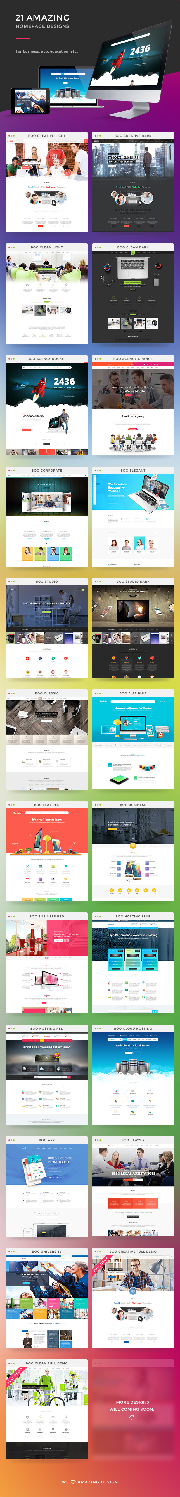 21 amazing homepage designs