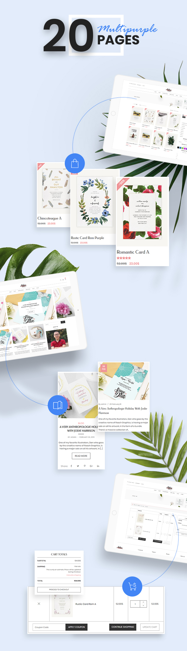 Aidoo - Wedding Card WooCommerce Theme - 9