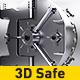 3D Safe Logo