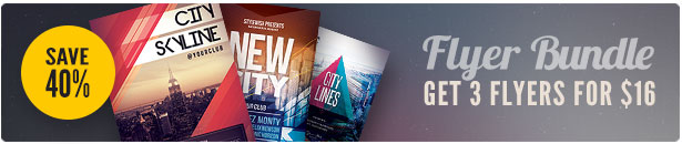 City Party Flyer Bundle Vol.05