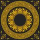 Vector Gold Greek Ornament - 5