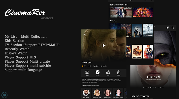 CinemaRex - Streaming Service - 7