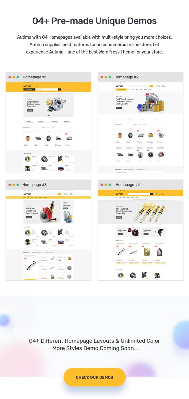 Autima - Car Accessories Theme for WooCommerce WordPress 23
