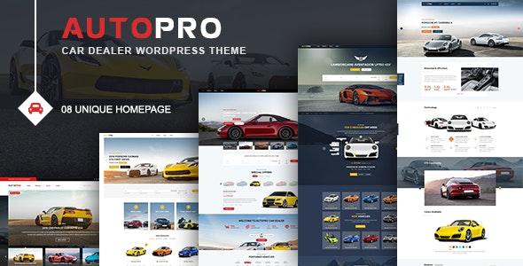 AutoPro - Car Dealer WordPress Theme - Business Corporate