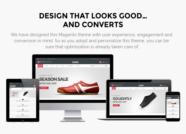 Shoes magento theme