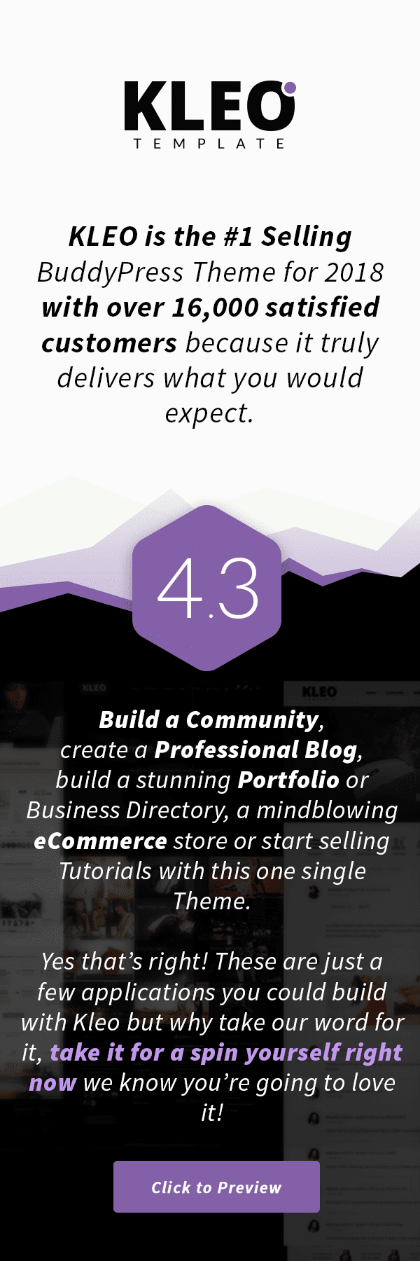 KLEO - Pro Community Focused, Multi-Purpose BuddyPress Theme - 2