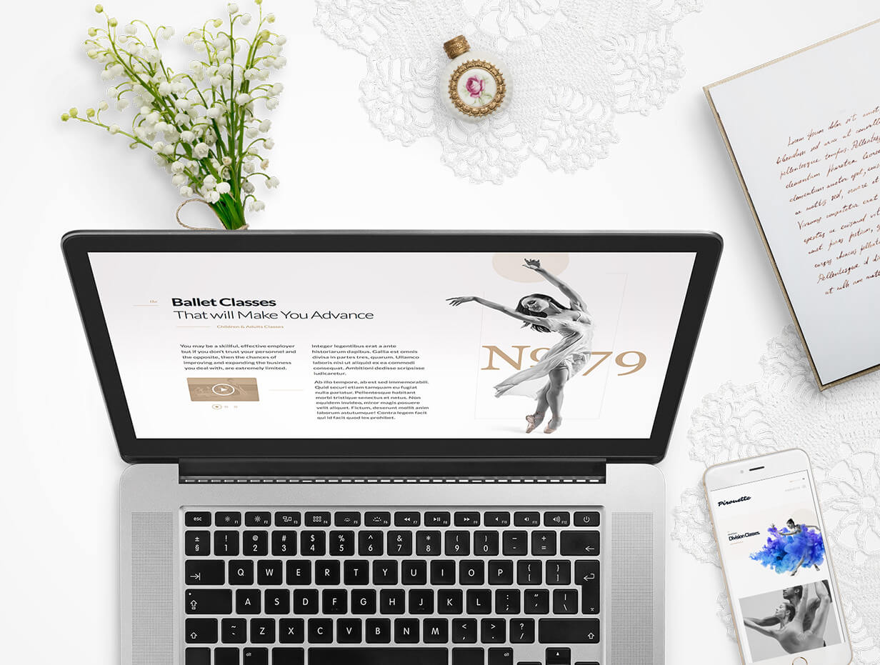 Dance WordPress Theme - Dancing Academy - 9
