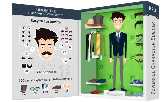 AinTrailers | Explainer Video Toolkit with Character Animation Builder - 29