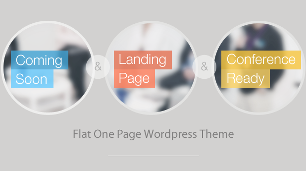 Infine - OnePage Conference & Event WP Theme - 1