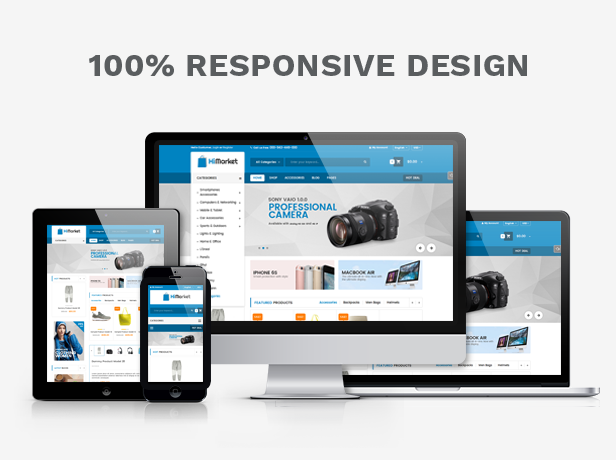 Prestashop Digital Theme - Fully Responsive