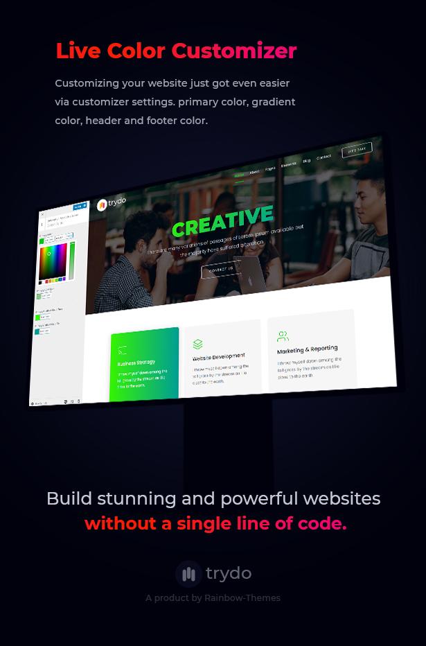 Trydo v1.0.0-Creative Agency&Portfolio WordPress主题插图32