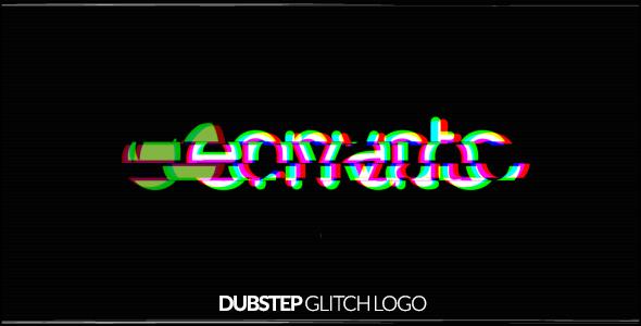 Grunge Glitch Logo - 10