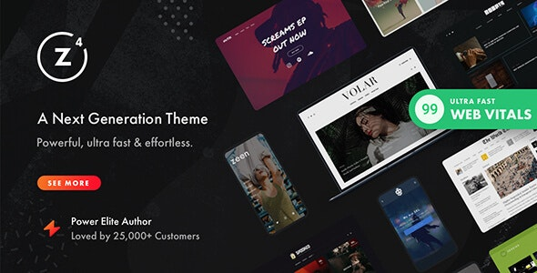 Zeen   Next Generation Magazine WordPress Theme - News / Editorial Blog / Magazine