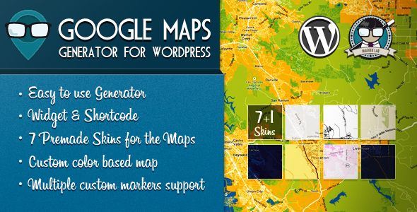 Colorful Google Maps API - 1