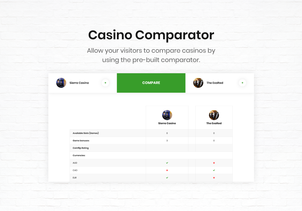 Coinflip - Casino Affiliate & Gambling WordPress Theme - 10