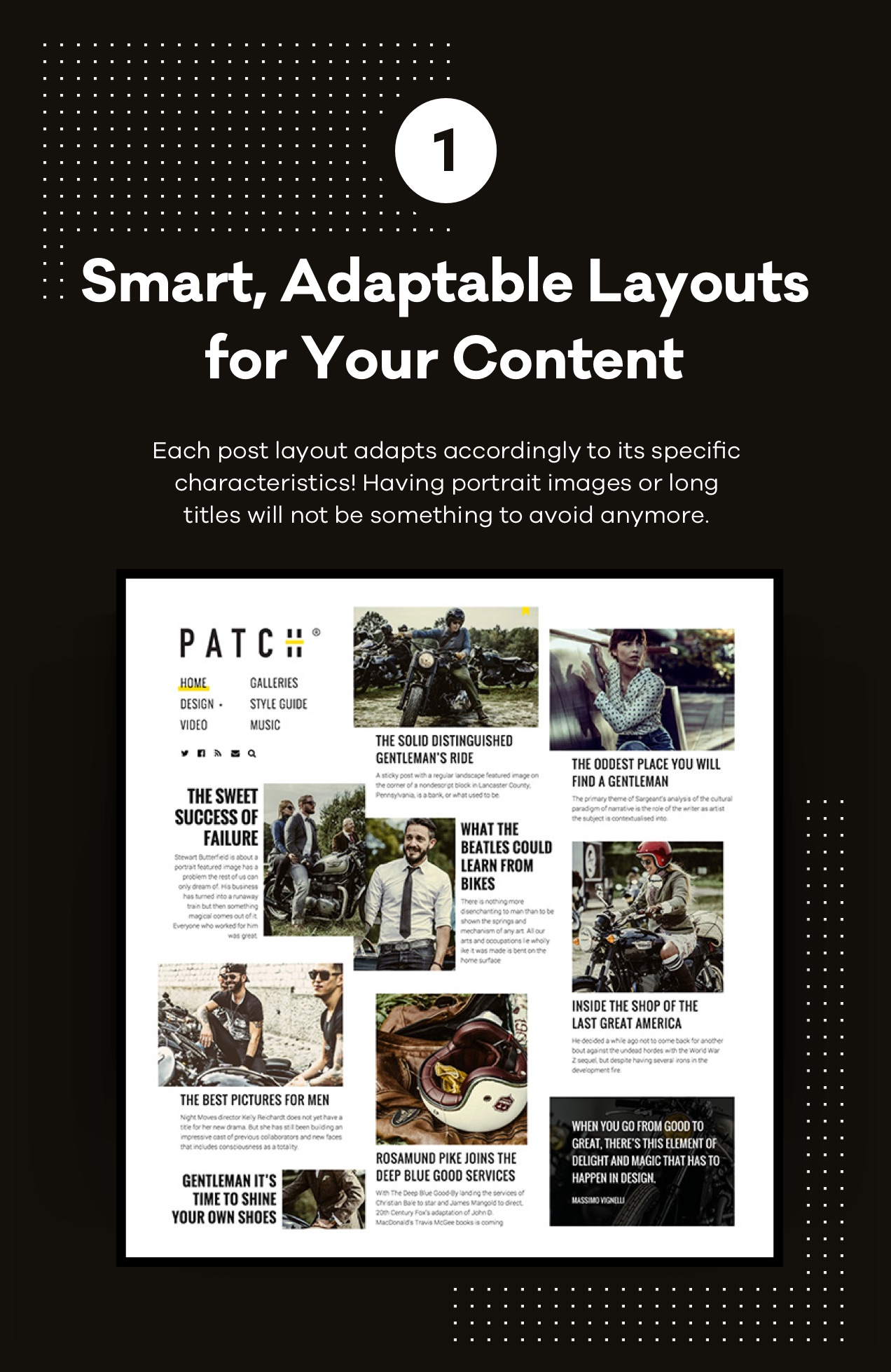 Smart, Adaptable Layouts for Your Content