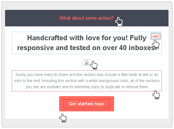 Responsiveur Responsive Email Newsletter Templates - 11