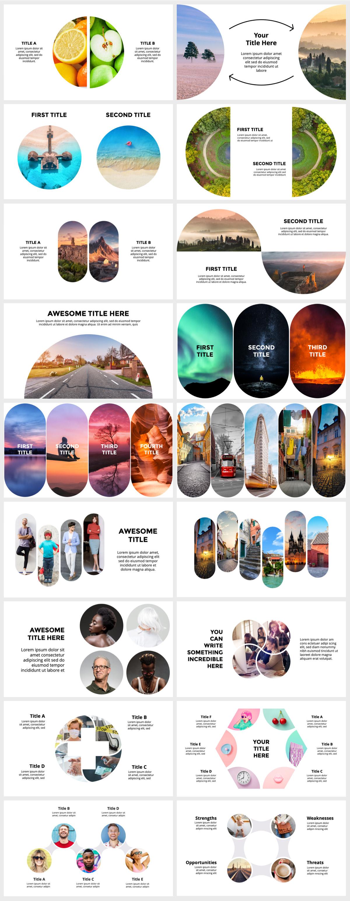 Huge Infographics Bundle! Lifetime Updates! PowerPoint, Photoshop, Illustrator. - 151