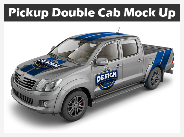 Pickup Double Cab Mock Up - Logic_Design