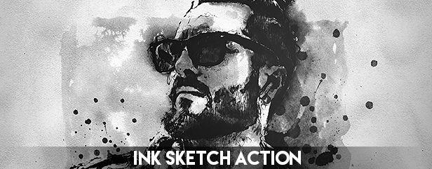 Archi Sketch Photoshop Action - 6