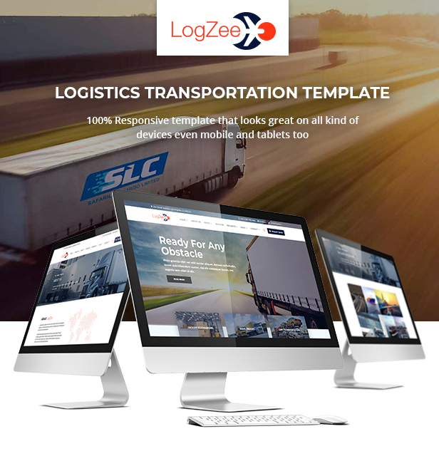 Logzee | Logistics, Transportation, Cargo HTML Template