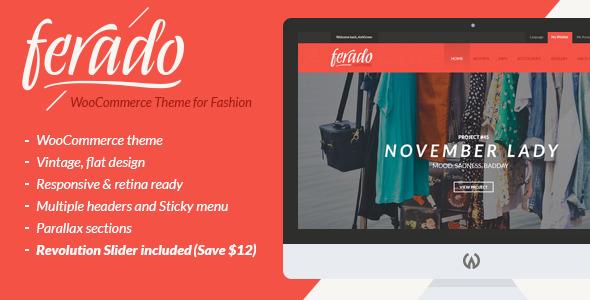 Ferado - WordPress fashion theme