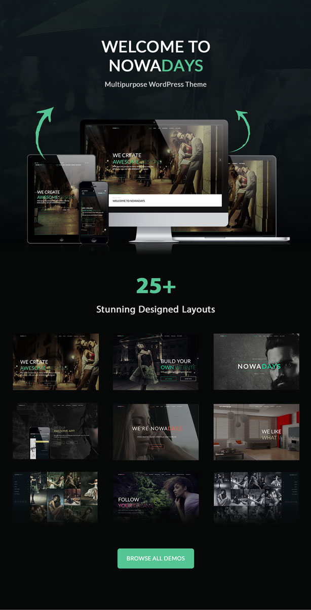 NowaDays - Multipurpose One/Multipage WordPress Theme - 6